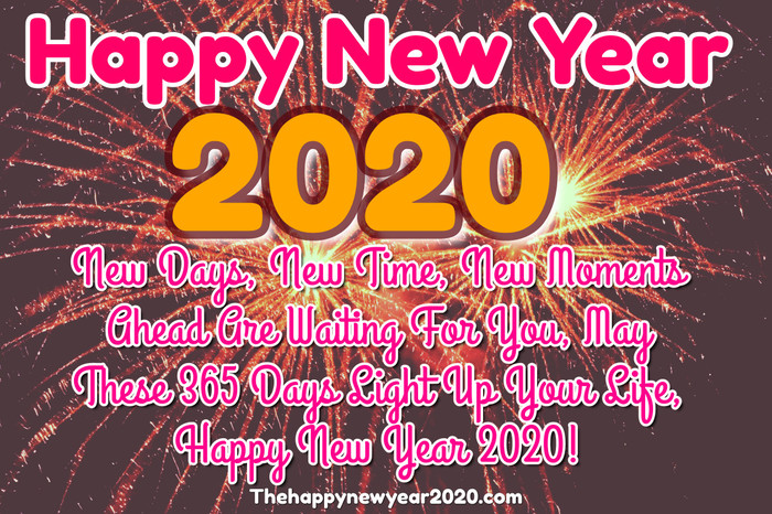 Happy New Year 2020 Wishes, Messages, Images and Quotes